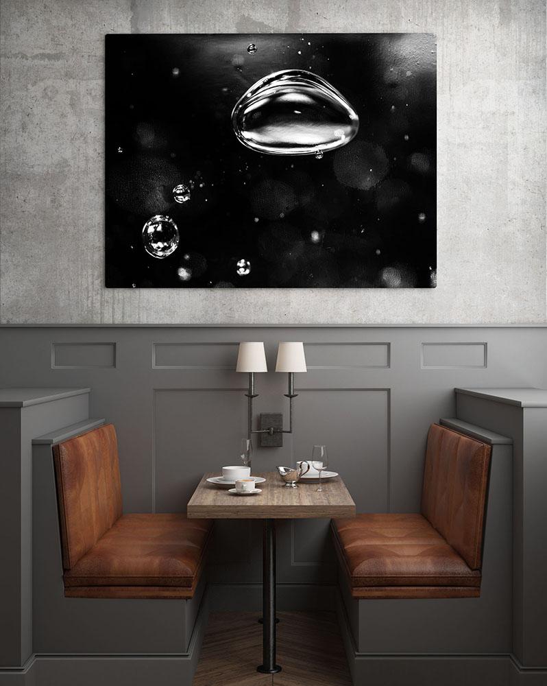 Mockup salle de restaurant